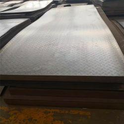 A36 Q235B S275 Ss400 Anti-Slip Checkered Ms 탄소 강철 플레이트
