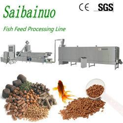 Pallina di galleggiamento dell'alimentazione dei pesci che rende a cane della macchina la riga di trasformazione dei prodotti alimentari