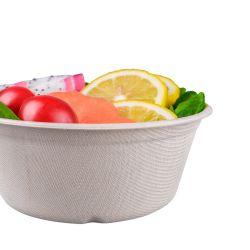 12,5 унц&20oz природных сахарный тростник багассы бумаги мякоти чаша для продовольственной
