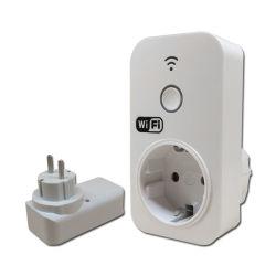 スマートなWiFiのヨーロッパ規格の電気タイマーのソケット(HG01W)