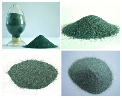 Pó de esmeril de alto grau de carboneto de silício verde para materiais abrasivos