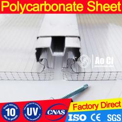 Feuille de polycarbonate-U du connecteur
