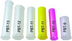 Starkes Plastiklack-Pinsel-Gefäß-Künstler-Farbanstrich-Portefeuille-transparenter Typ