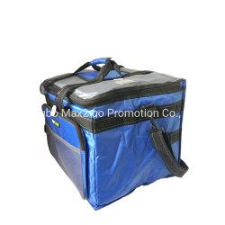 Max2go Double-Deck pliable bleu sac du refroidisseur de grande capacité