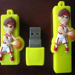 カスタマイズされた USB PVC Play Basketball USB Flash Drive Flash Disk 128GB 256GB