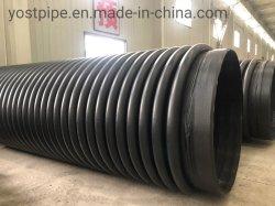 O plástico do tubo de PE com flange para Gás ou Água de HDPE 100 Sn4 Tubo Krah