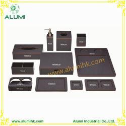 Acrílica preta caixa tecido sabonetes prato comodidade Suporte de Bandeja