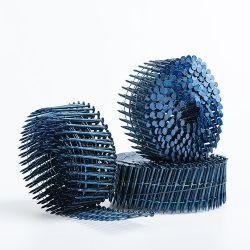 La vis à filetage haute dureté clair des clous de la bobine pour l'emballage en bois[Ular cas Po dans le monde