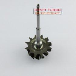 Pièces de voiture K04 de l'arbre de roue de turbine