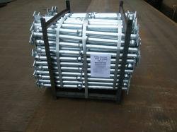 Tubo de acero galvanizado en caliente el pasamanos de escalera