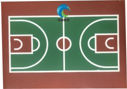 Silikon PU-Basketball-/Volleyball-Gerichts-Tennis-Gericht Tbale Tennis-Gericht