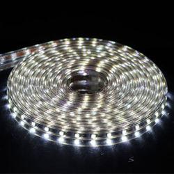 220V à prova de 110V 60M/LED Fita LED flexível com Conector do Interruptor