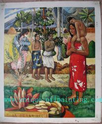 Huile sur toile, huile de la peinture de la reproduction, Paul Gauguin Huile sur toile