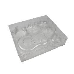 Пластмассовые индивидуальные пакеты в блистерной упаковке, может поставляться в блистерной упаковке пластиковой упаковки, в блистерной упаковке упаковка
