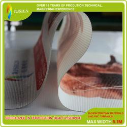 Tissu à mailles de PVC maille polyester enduit de PVC pour meubles