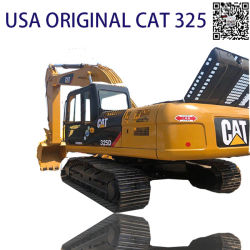 Verwendete/zweite Hand 20ton/USA/Original/80% neu/Katze-/des Gleiskettenfahrzeug-325D/325dl/325bl/320d/320c/320b Gleisketten-Exkavatoren