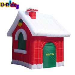 Santa Weihnachten Aufblasbare Bouncer Springen Bounce Haus