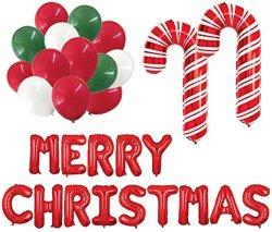 메리 크리스마스 마일라(Merry Christmas Mylar)와 라텍스 믹스 벌룬 키트(Balloon Kit)는 레드, 그린, 화이트(Red), 캔디 캔디 캔디 캔디 캔디 캔디 캔디 캔디 캔디
