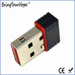 adattatore del USB 2.0 WiFi della ricevente senza fili di velocità 150Mbps mini (XH-UW-001)