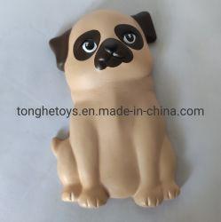 Zoll personifizierte PU-Schaumgummi-Hundedruck-Kugel-Squishy Spielwaren