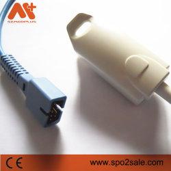 Nellcor DS-100A SpO2 com Sensor de clipe para dedo tamanho adulto Non-Oximax