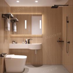 Сборные дома контейнера для профессиональных оптовых кабины в ванной комнате - все в одном портативные измерители в ванной комнате ванная комната SMC