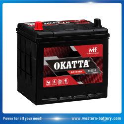 12V60Ah sans entretien MF SLA Automobile pour le Japon de batterie de voiture de l'automobile Véhicule automatique
