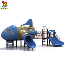 Parco giochi per aircarft Parco acquatico giocattolo Gioca giochi al coperto plastica Slide Bambini aereo giocattolo altri prodotti per parchi divertimenti Bambini all'aperto Attrezzature per il parco giochi
