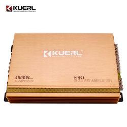 Manica di vendita calda dell'audio amplificatore 4 dell'automobile del codice categoria ab dell'amplificatore 12V di alto potere 4500W
