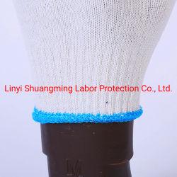 安い綿によって編まれる働く手袋の保護産業安全の手袋