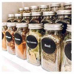 4oz Keuken opslag container Seakoning vierkante Spice fles Jar