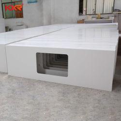 맞춤형 코리안 스톤 솔리드 Surface Kitchen 벤치 탑 싱크