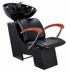 Mobiliario de peluquería de la unidad de contralavado Salon de Belleza de la cuenca de cerámica silla Champú Champú Champú de lavado de pelo sillón cama
