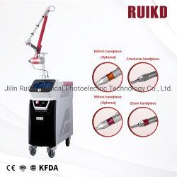 Высокая мощность Ruikd ND YAG лазер Tattoo снятие и омоложения кожи машины