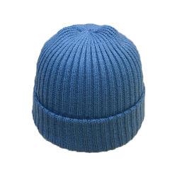 고품질 상단 모자를 뜨개질을 하는 공에 의하여 뜨개질을 하는 모자 싼 주문 겨울 모자
