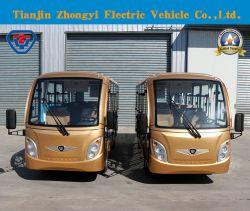Utilitaire Zhongyi 14 sièges de la navette touristique Tourisme Voiture électrique avec système de chauffage et climatisation