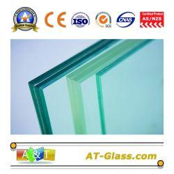Bas prix de haute qualité en verre feuilleté 6.38mm, 8.38mm, 10.38mm, 12.38mm, 8.76mm 12.76mm10.76mm,