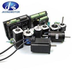 Hochwertige kundenspezifische 12V 24V 36V 48V 310V DC bürstenlos Motor mit Getriebemotor 23W- 2500W mit Encoder oder Planetary Getriebe-DC-Elektrolüfter-BLDC-Motorkits