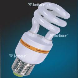 Мини-половина спиральная энергосберегающая лампа CFL