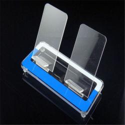 カスタムプラスチックアクリルPSのテーブルトップのCD、携帯電話のアクセサリ、電子ロックサーバーラック陳列だな