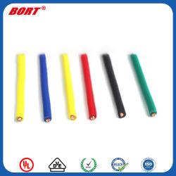 UL3122 caucho de silicona resistente al calor de cable de fibra de vidrio