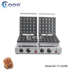 كسا تفلون [نونستيك] يطبخ تجهيز نقد ضعف ألومنيوم حوض طبيعيّ كهربائيّة 50 مصغّرة شبك كعكة يجعل آلة تجاريّة [دوتش] فطيرة صانعة [بوفّرتجس] شبكة