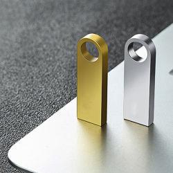 Nuevo estilo de metal Mini 32 GB USB Flash Drives USB 2.0 de 16GB 128GB 4GB 128MB 64GB Pendrives U disco