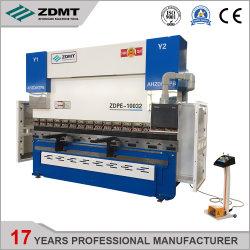 高精度のZdmt同調油圧CNCの出版物ブレーキ版の曲がる機械