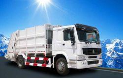Gli assi 4cbm, 6cbm, 8cbm, il camion di immondizia caricato posteriore 10cbm, il camion del costipatore dei rifiuti, il camion di immondizia, spreco di Sinotruk HOWO 2 raccolgono il camion da vendere