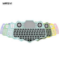 핫 셀링 백라이트 2.4GHz V18 미니 무선 키보드 터치패드 i8 Air Fly Mouse Backlit Keyboard for Android TV 박스