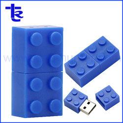 ブロックUSBのフラッシュ駆動機構のPendriveのプラスチックのメモリ棒