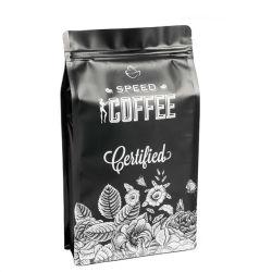 Le café à fond plat de l'emballage personnalisé sac sac de grains de café imprimé personnalisé