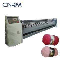 Toque alto Poli/lã acrílica/fios mesclados 45%Lã 35%Acrylic 20% poliéster lado Tricotar Bola Máquina de Enrolamento