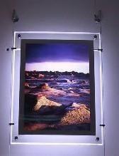 شاشة لمس 17.3 بوصة تعليق شاشة LCD إعلان مربع الإضاءة Acrylic شاشة العرض